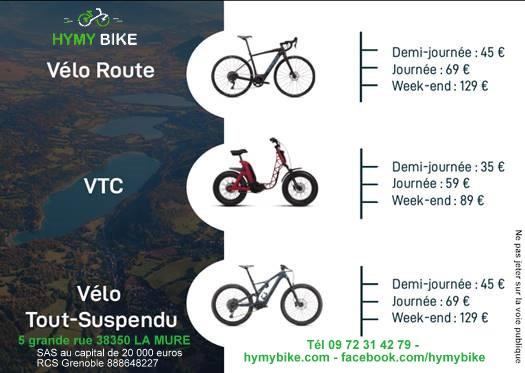 location vélo électrique La Mure